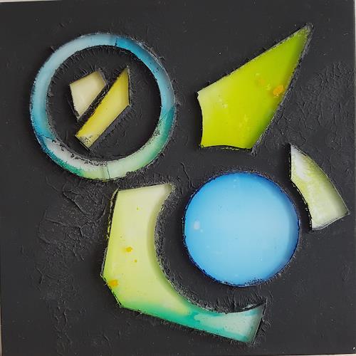 WWSt, Lichter 3, Abstraktes, Abstrakte Kunst