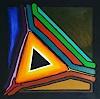 WWSt, Farbfelder auf Schwarz 3, Abstraktes, Abstrakte Kunst