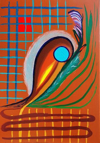 WWSt, Netzkomposition 3, Abstraktes, Abstrakte Kunst