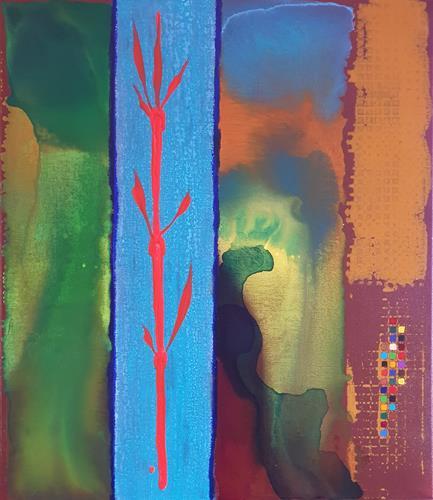 WWSt, Polarität 1, Abstraktes, Abstrakte Kunst