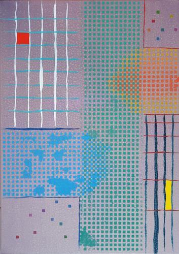 WWSt, Matrix 1, Abstraktes, Abstrakte Kunst, Expressionismus