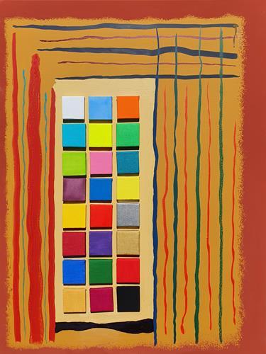 WWSt, Komposition 24&1, Abstraktes, Abstrakte Kunst