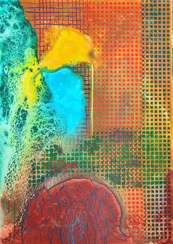 WWSt, Matrix 2, Abstraktes, Abstrakte Kunst, Abstrakter Expressionismus