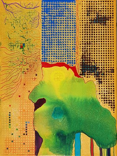 WWSt, Matrix 3, Abstraktes, Abstrakte Kunst