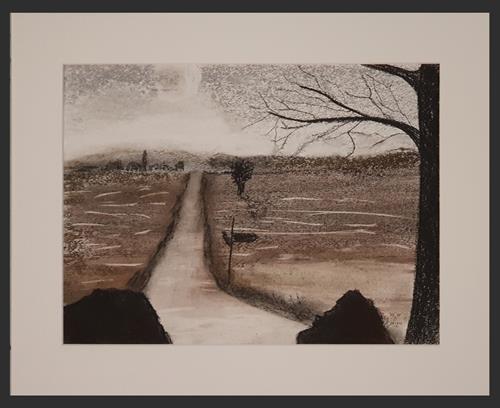 WWSt, Am Moor, Landschaft, Abstraktes, Impressionismus, Expressionismus