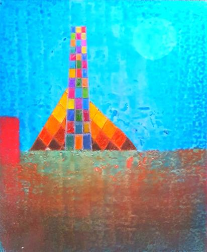 WWSt, Komposition mit Farbfeldern 2, Abstraktes, Colour Field Painting