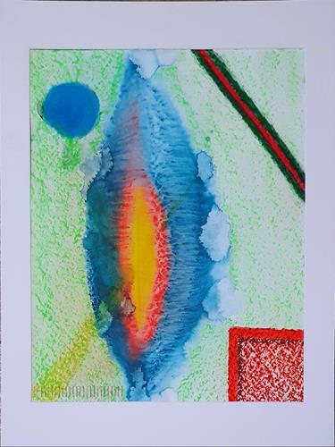 WWSt, Licht 9, Abstraktes, Abstrakte Kunst