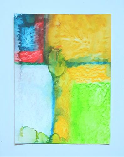 WWSt, Farbfelder 17, Abstraktes, Colour Field Painting
