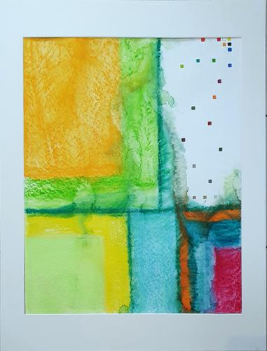 WWSt, Farbfelder 18, Abstraktes, Colour Field Painting