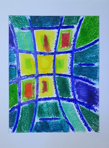 WWSt, Farbfelder 19, Abstraktes, Colour Field Painting
