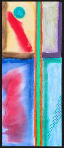 WWSt, Komposition mit Farbfeldern 3, Abstraktes, Colour Field Painting, Expressionismus