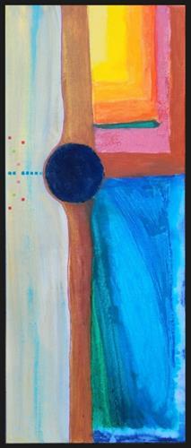 WWSt, Komposition mit Farbfeldern 5, Abstraktes, Colour Field Painting