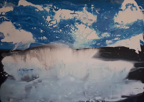 Ludwig Baumeister, Niagara, Abstraktes, Abstrakte Kunst, Abstrakter Expressionismus