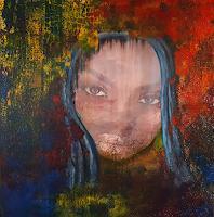 Ludwig-Baumeister-Menschen-Frau-Moderne-Abstrakte-Kunst