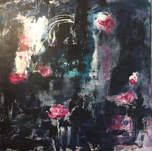 Nina Jankovic, moonart, Abstraktes, Natur: Diverse, Abstrakter Expressionismus
