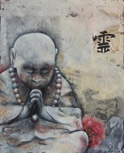 Claudia Beck, Little Monk, Glauben, expressiver Realismus