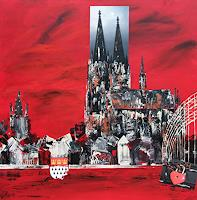 Claudia-Beck-Diverse-Bauten-Moderne-Abstrakte-Kunst-Informel