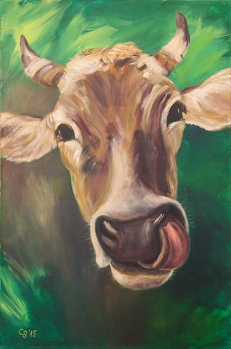 Claudia Beck, Kuh Steffi, Tiere: Land, Tiere: Land, Naturalismus