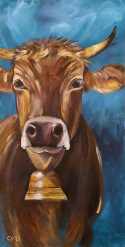 Claudia Beck, Kuh Resi, Tiere: Land, Tiere: Land, Naturalismus