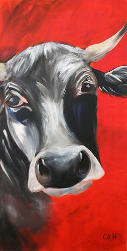 Claudia Beck, Kuh Clara, Tiere: Land, Tiere: Land, Naturalismus