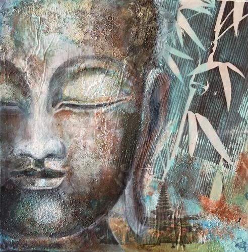 Claudia Beck, Buddha, Glauben, Religion, expressiver Realismus