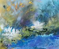 Marion-Schmidt-Landschaft-See-Meer-Abstraktes-Moderne-Abstrakte-Kunst-Action-Painting