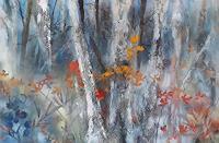 Marion-Schmidt-Landschaft-Ebene-Pflanzen-Baeume-Moderne-Abstrakte-Kunst-Action-Painting