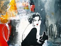 Margret-Obernauer-Menschen-Frau-Abstraktes-Moderne-Abstrakte-Kunst