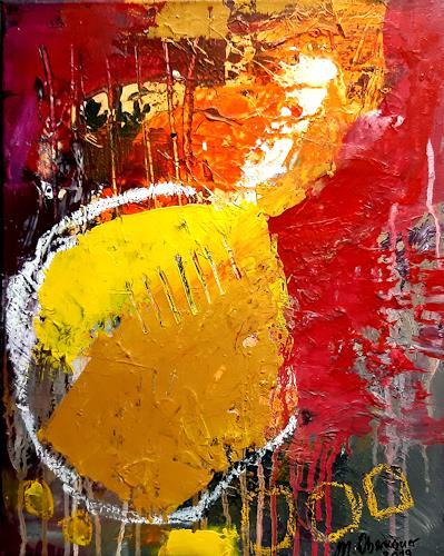 Margret Obernauer, Freiheit, Abstraktes, Fantasie, Neue Wilde