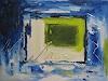 Margret Obernauer, O/T, Abstraktes, Abstrakte Kunst