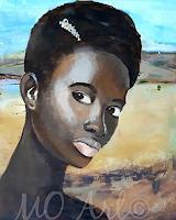 Margret-Obernauer-Menschen-Gesichter-Menschen-Frau-Moderne-Andere-Neue-Figurative-Malerei