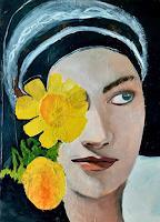 Margret-Obernauer-Menschen-Frau-Menschen-Gesichter-Moderne-Andere-Neue-Figurative-Malerei