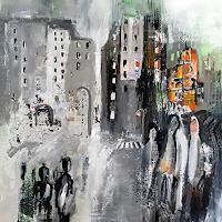 Margret-Obernauer-Gefuehle-Freude-Abstraktes-Moderne-Abstrakte-Kunst