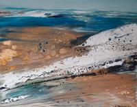 Margret-Obernauer-Landschaft-See-Meer-Natur-Moderne-Expressionismus