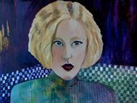 Margret-Obernauer-Menschen-Frau-Menschen-Gesichter-Moderne-Fotorealismus