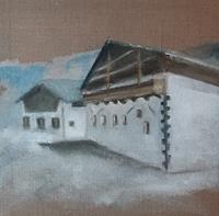 Margret-Obernauer-Landschaft-Bauten-Moderne-Fotorealismus