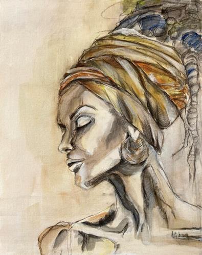 Sissi Brunner-Schützelhofer, Simple, Pflanzen, Dekoratives, Abstrakte Kunst