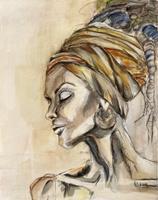 Sissi-Brunner-Schuetzelhofer-Pflanzen-Dekoratives-Moderne-Abstrakte-Kunst