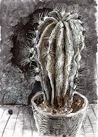 Susanne-Thaesler-Diverse-Pflanzen-Moderne-expressiver-Realismus