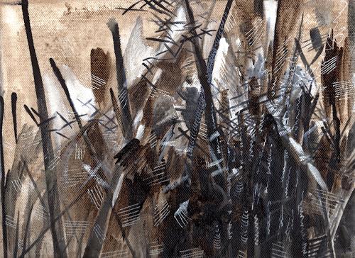 Susanne Thäsler-Wollenberg, Schilf, Diverse Landschaften, Diverses, expressiver Realismus, Expressionismus