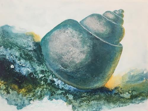 Madeleine Schertenleib, Wasserwelt, Natur: Wasser, expressiver Realismus