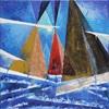 Alexander Majer, Regatta 32, Landschaft: See/Meer, Abstrakte Kunst