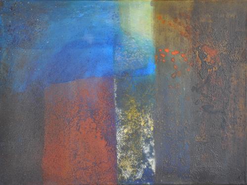 Regina Hermann, Tiefen, Abstraktes, Abstraktes, Abstrakte Kunst, Expressionismus