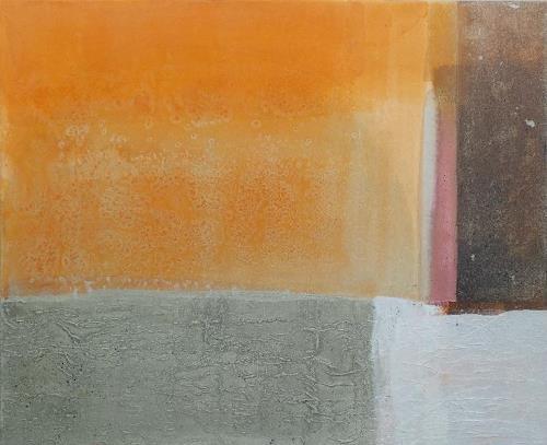 Regina Hermann, Farbklänge 1, Abstraktes, Abstrakte Kunst, Expressionismus