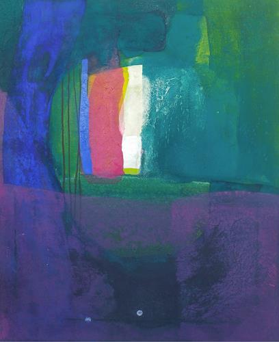 Regina Hermann, Farbklänge 2, Abstraktes, Abstrakte Kunst, Expressionismus