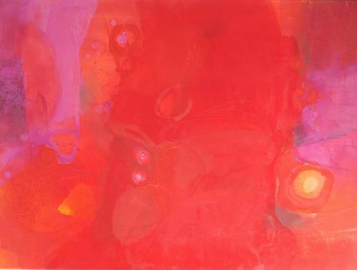 Regina Hermann, O/T, Abstraktes, Abstrakte Kunst