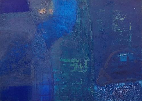 Regina Hermann, O/T, Abstraktes, Abstrakte Kunst, Expressionismus