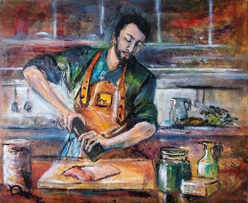 Nora Block, Leidenschaft, Menschen, Essen, Realismus