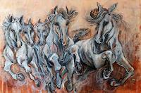 Nora-Block-Tiere-Land-Bewegung-Neuzeit-Realismus