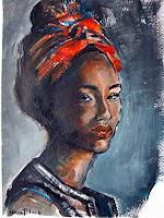Nora-Block-Menschen-Frau-Menschen-Portraet-Neuzeit-Realismus